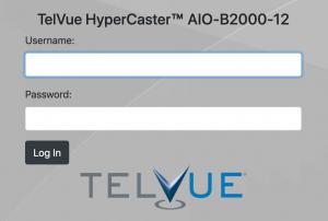 HyperCaster Responsive Login