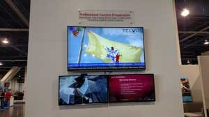 TelVue powering 4K for SES at CCW
