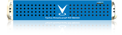 AIO B2000 broadcast server for PEG broadcast, SDI broadcast playout