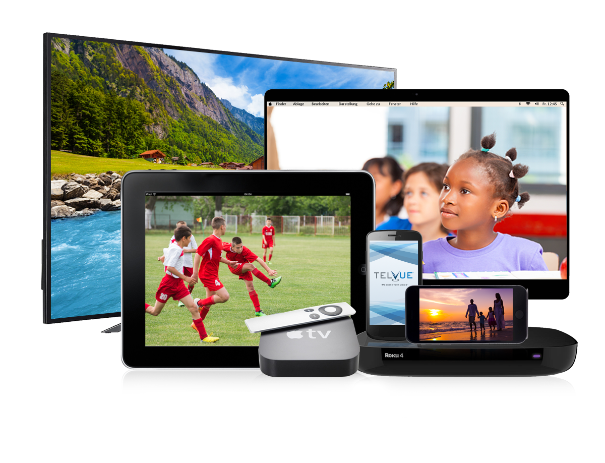 TelVue CloudCast video streaming helps PEG TV reach multiple screens including Roku and Apple TV