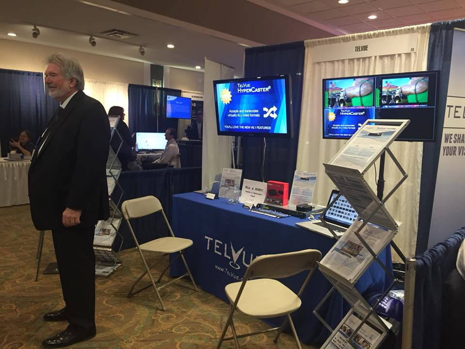 TelVue at 2017 ACM-NE