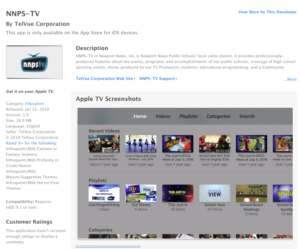 NNPS in Apple TV